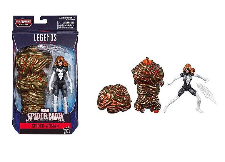 Marvel Spider-Man Legends Series Spider-Woman [BAF Molten Man]