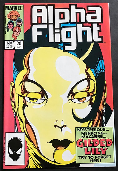 Alpha Flight #20 (Marvel) NM