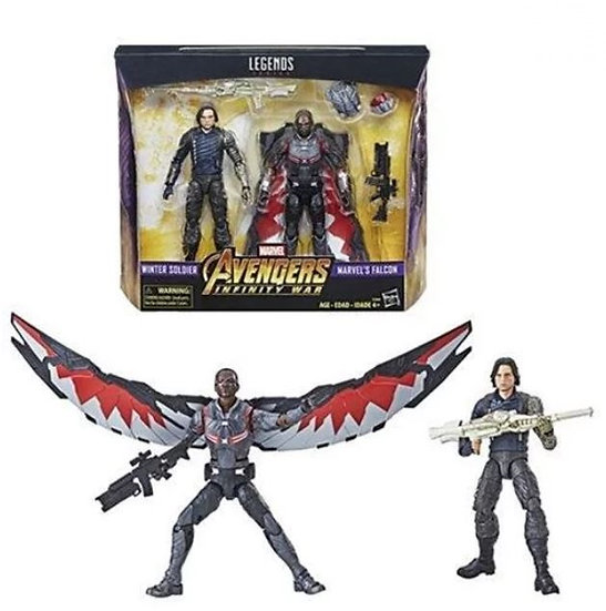 Marvel Legends Series Avengers Infinity War Winter Soldier And Falcon