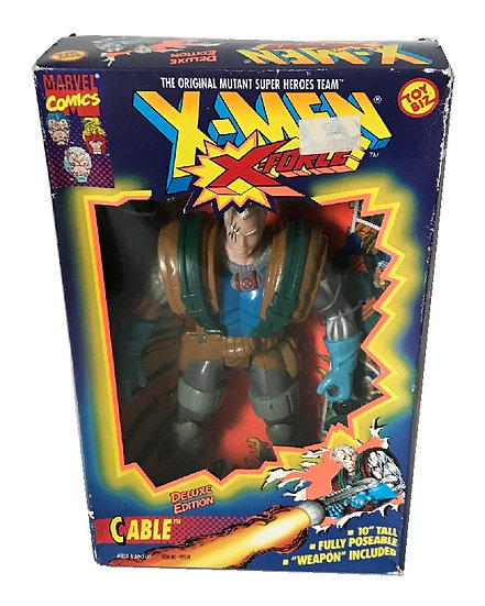 1994 Marvel Comics The Uncanny X-Men X-Force 10 inch Cable By Toy Biz.