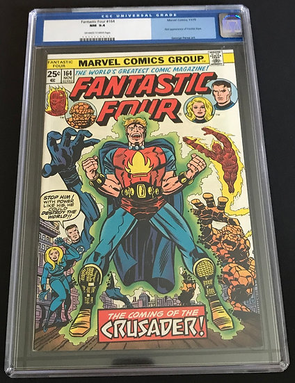 Fantastic Four (1961 1st Series) #164 CGC NM 9.4 Off-White To White Pages.