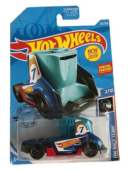 Hot Wheels HW Race Team Haul-O-Gram [Damaged Bubble]