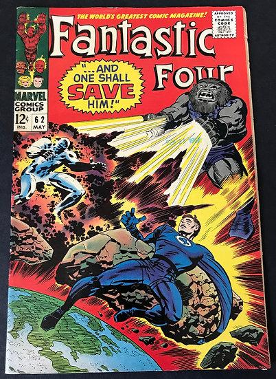 Fantastic Four (Marvel) #62 FN+