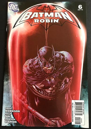 Batman and Robin (DC) #6 NM- [1:25 Red Hood App]