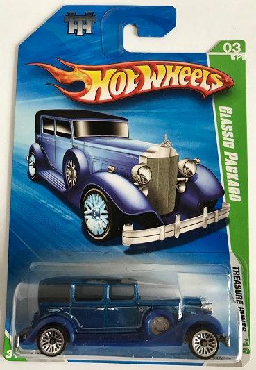 Hot Wheels Treasure Hunts 10 Classic Packard - 047/240 New Sealed