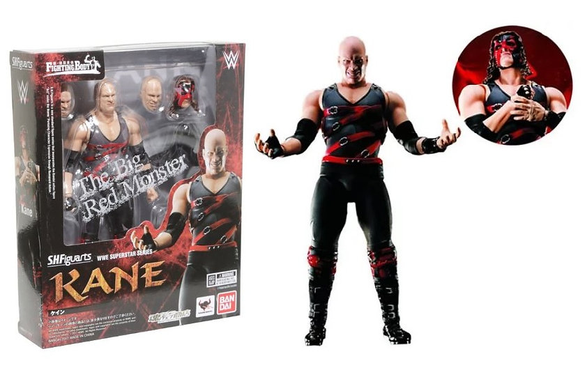 WWE Superstar Series Kane S.H.Figuarts Action Figure