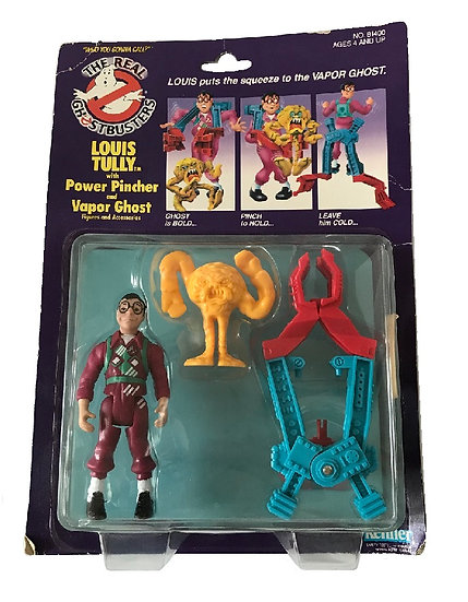 1986 The Real Ghost Busters Louis Tully With Power Pincher And Vapor Ghost