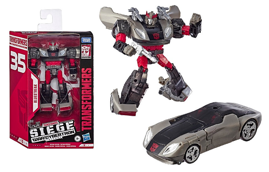 Transformers War for Cybertron Deluxe WFC-S64 Bluestreak [Special Edition]