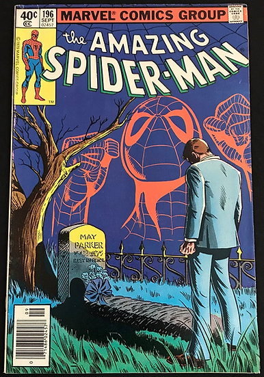 Amazing Spider-Man (Marvel) #196 VF [Death Aunt Mary]