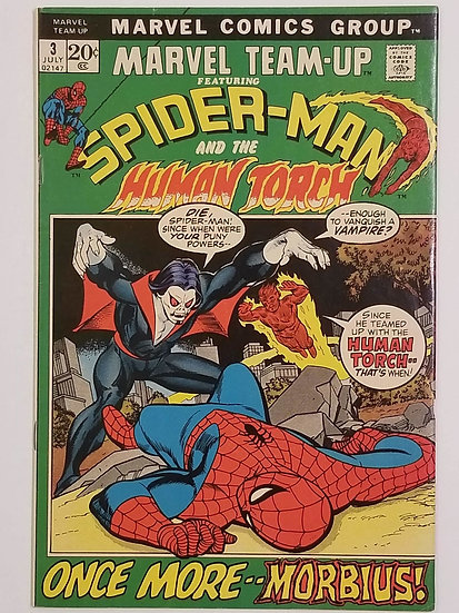 Marvel Team-Up (1972 1st Series) #3 VF- 3rd Appearance of Morbius
