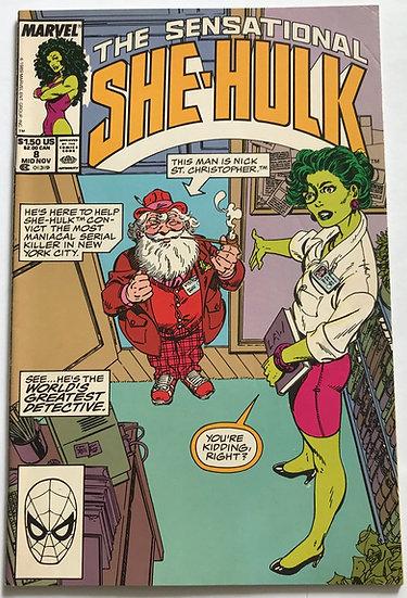 Sensational She-Hulk (Marvel) #8 VF/NM