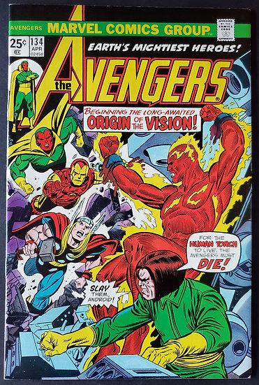 Avengers 134 NM [Origin VIsion]