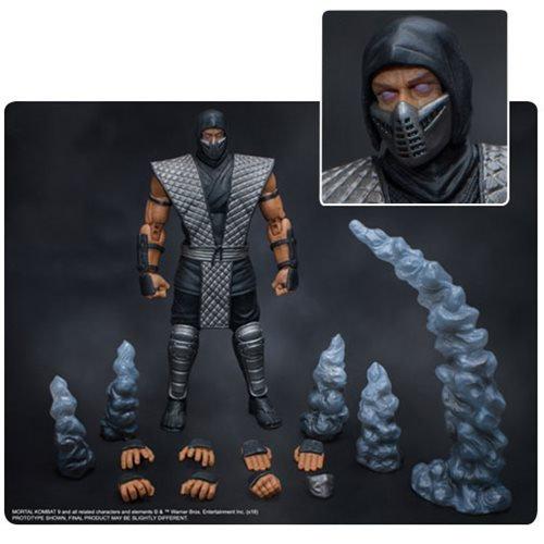 Mortal Kombat Smoke 1/12 Scale Action Figure  NYCC 2018 Exclusive