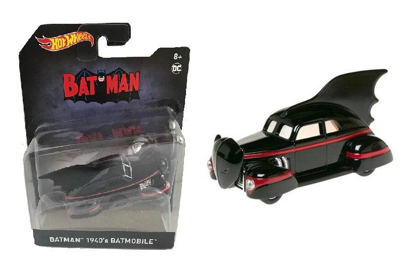 Hot Wheels Batman 1940's Batmobile Die-Cast
