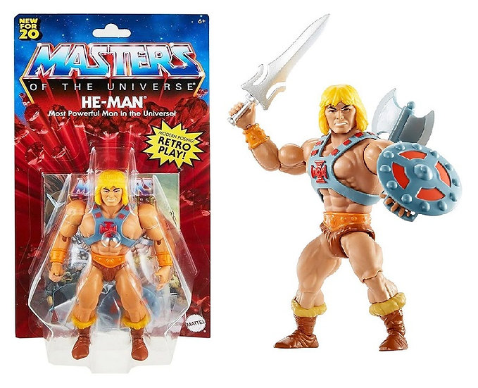 Masters Of The Universe He-Man Most Powerful Man In The Universe Action Figure