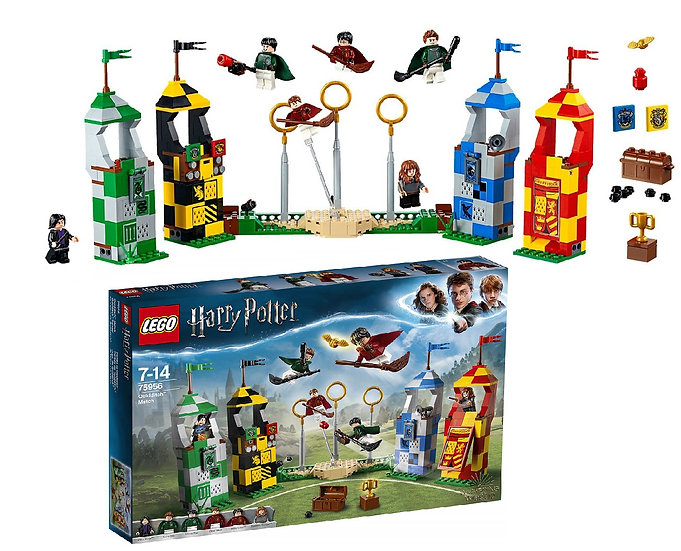 Lego Building Toy Harry Potter Quidditch Match 75956