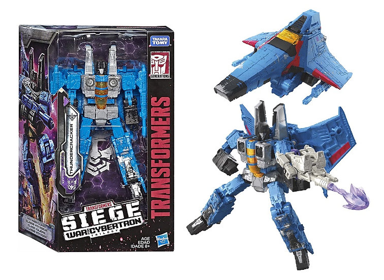 Transformers Siege War for Cybertron Trilogy Thundercracker Figure