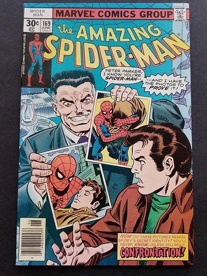 Amazing Spider-Man (1963 1st Series) #169 VF+