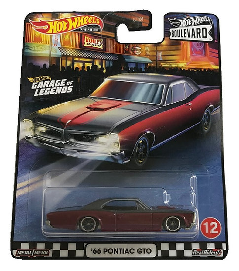 Hot Wheels BoulevardGarage Of Legends '66 Pontiac GTO