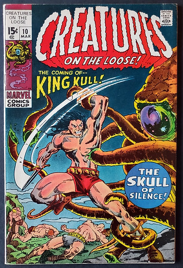 Creatures on the Loose (1971) #10 VF [1st King Kull]
