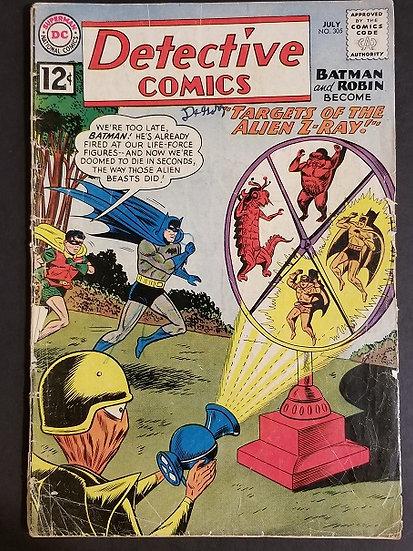 Detective Comics Batman And Robin Become 305 GD/VG