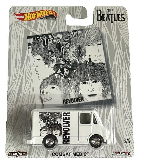 Hot Wheels Premium The Beatles Combat Medic