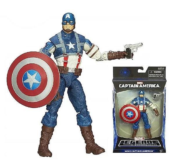 Marvel Legends Infinite Series Captain America Action Figure