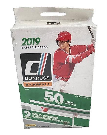 2019 Donruss Baseball Cards Hanger Box By Panini