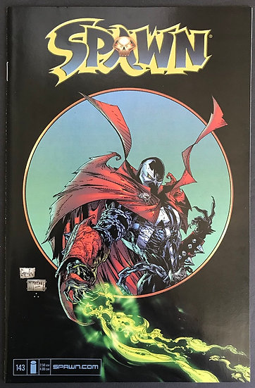 Spawn (1992) #143 VF+ [Greg Capullo Cover]
