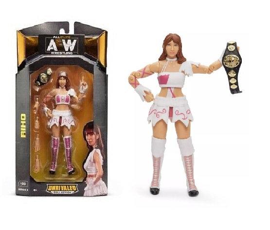 AEW Unrivaled Series #3 Riho Wrestling Figure