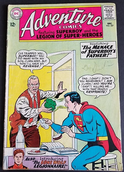 Adventure Comics (1938 1st Series) #327 VG
