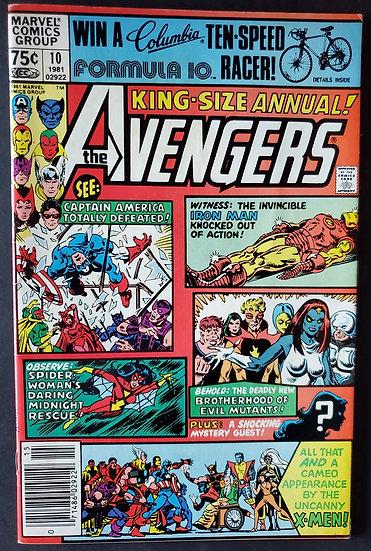 Avengers Annual 10 VF/NM [1st Rogue]