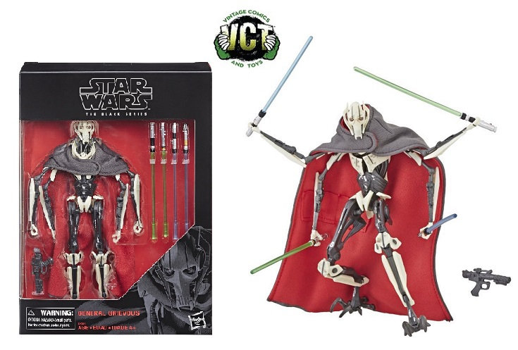 Star Wars The Black Series  General Grievous Deluxe Action Figure by Hasbro