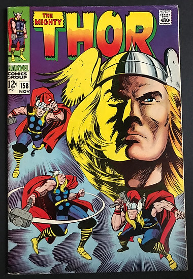Thor (1962-1996 1st Series Journey Into Mystery) #158 VF