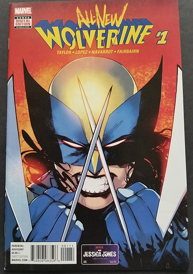 All-New Wolverine 1 NM-. X-23 becomes new Wolverine.