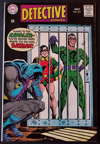 Detective Comics 377 VF [Riddler App]