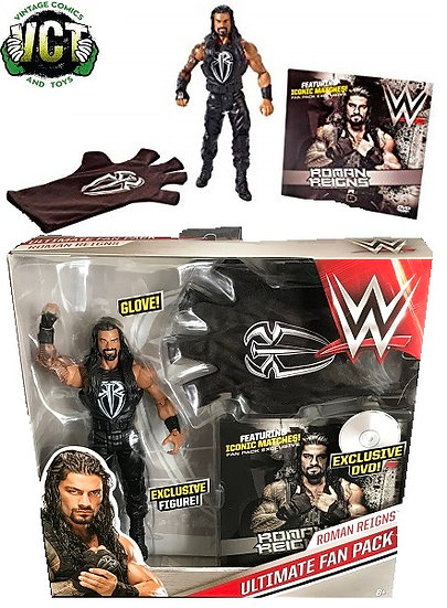 WWE Ultimate Fan Pack Roman Reigns Includes Glove And  Exclusive DVD