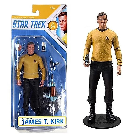 Mcfarlane The Original Series Star Trek 7 inch Captain T. Kirk Action Figure