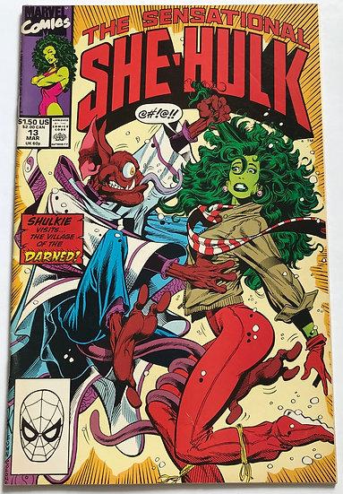 Sensational She-Hulk (Marvel) #13 VF/NM