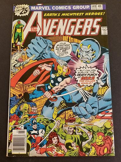 Avengers (1963 1st Series) #149 VF