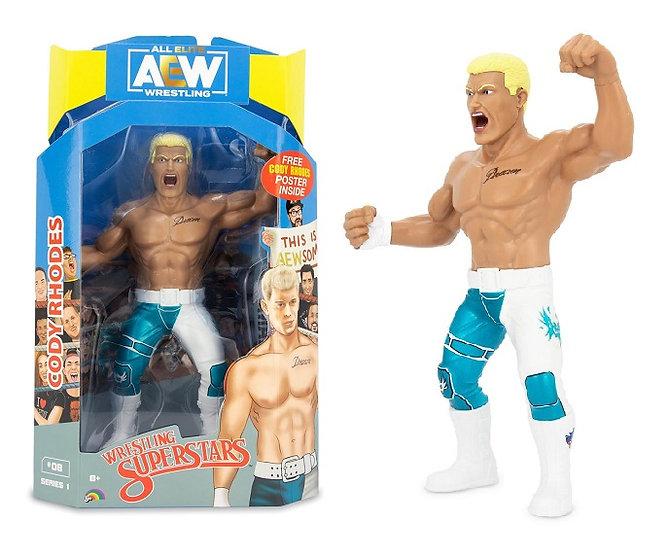 AEW Wrestling Superstars Series 1 Cody Rhodes Wrestling Figure