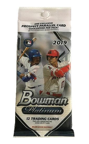 Topps 2019 Bowman Platinum National Baseball Cards Fat Pack