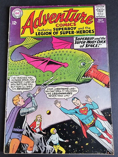 Adventure Comics (1938 1st Series) #332 VG