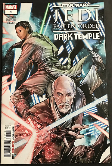 Star Wars Jedi Fallen Order Dark Temple (2019 Marvel) #1 NM-