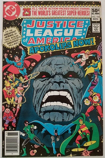 Justice League of America (1960 1st Series) #184 NM
