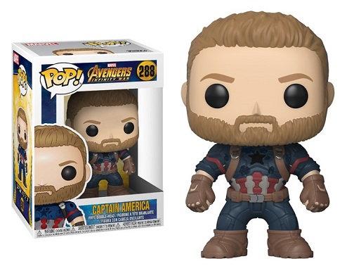 Funko Pop Marvel Avengers Infinity War Captain America 288
