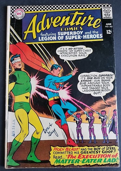 Adventure Comics 345 VG/FN