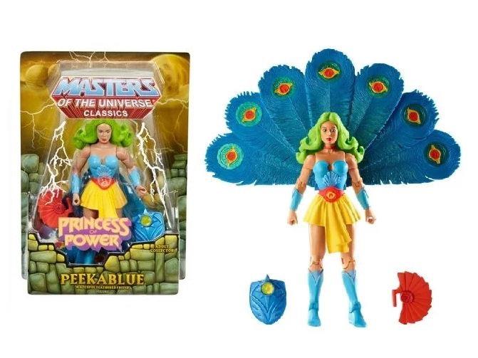 Masters of the Universe Peekablue Collector Figure
