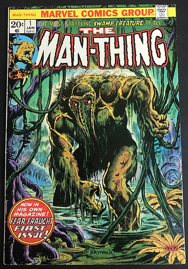 Man-Thing (1974 1st Series) #1 FN+ [1st Man-Thing titled series]