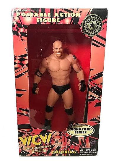 1998 WCW World Champion Wrestling Signature Series 12 Inch Goldberg